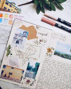 Travel Journaling #journal #travel #journaling #notebook #summer