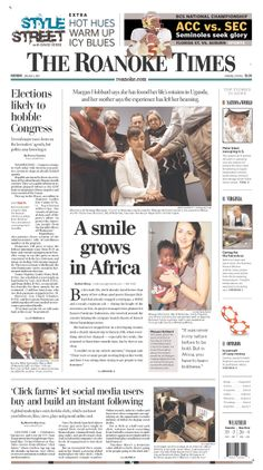 The Roanoke Times front page: Jan. 6, 2014. Sign up for a digital subscription at roanoke.com/subscribe.