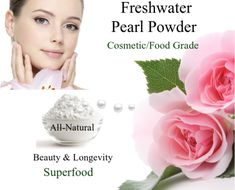 Pearl Pearl is a revered longevity Super food that has been used in Ayurvedic & Traditional Chinese Medicine to support a wide range of health & beauty problems. It also has both brightening & anti-inflammatory benefits that drastically improve skin texture, boosts skin firmness, and makes your skin soft and glowing, treats eczema, acne, hyperpigmentation, psoriasis, and more. How To Treat Eczema, Traditional Chinese Medicine, Beauty Secrets, Superfood, Fresh Water, Anti Aging, Health And Beauty, Powder, Range