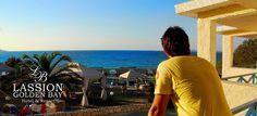 the majestic in Lassion Golden Bay - & Resort www. Crete, Celestial, Sunset, World, Beach, Water, Outdoor, Gripe Water, Outdoors