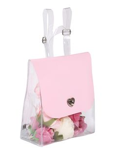 CANDY CLEAR backpack