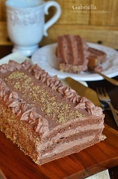 Cake Cookies, Cupcake Cakes, Hungarian Recipes, No Bake Cake, Macarons, Vanilla Cake, Tart, Food And Drink, Cooking Recipes