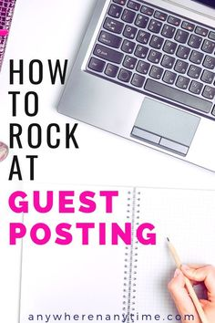 Guest Posting is a great way to build authority online. Learn how you can get started guest posting and learn from the best. Work From Home Business, Online Work From Home, Work From Home Moms, Online Business, Business Tips, Business School, Writing A Book, Writing Tips, Article Writing