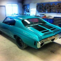 HPI Customs 70 chevelle molded in rear spoiler