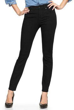 Gap mens black skinny jeans