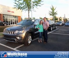 #HappyAnniversary to Francisco Ramirez on your 2014 #Jeep #Grand Cherokee from James Hokanson at Wolfchase Chrysler Jeep Dodge!