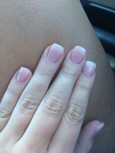 Passion OPI for a natural acrylic nail