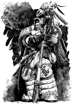 lexicanumwiki:  StormseerTargutaiYesugei  Read about Stormseers here: http://wh40k.lexicanum.com/wiki/Stormseer#.Umo58HB7LngPicture: Black Library