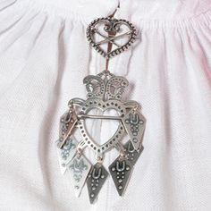 Sølje Rakkestad Ostfold Folk Costume, Costumes, Modern Jewelry, Folklore, Norway, Brooch, Pendant Necklace, Silver, Inspiration