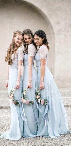 #Mismatched #long #fall #bridesmaiddresses #bridesmaids #wedding #Modestbridesmaiddress #cheapdress #discount