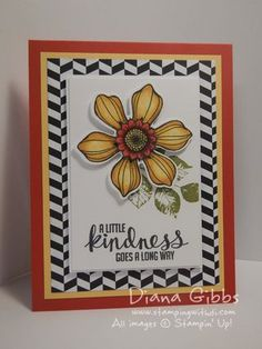 Stampin' Up! Beautiful Bunch with Blendabilities for my class.
