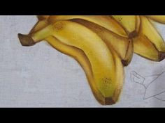 Siena, Bananas, Youtube, Diy, Painted Rug, Painting Tips, Art On Canvas, Painted Pumpkins, Fruit Painting