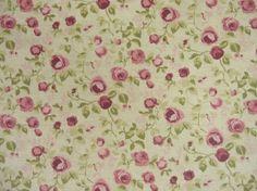 Clarke & Clarke Genevieve Maude F0624/03 Mulberry cotton curtain fabric