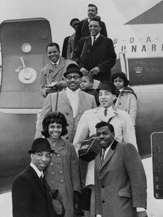 Berry Gordy, the Miracles and others