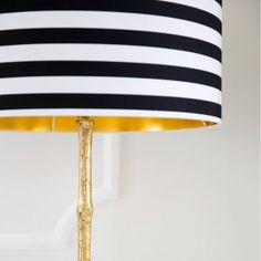 Circus stripe shade by Love Frankie. Colonial Floor Lamp by The French Bedroom…