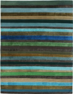 """""""Sandalwood Stripe"""" design by NIBA Rug Collections"""