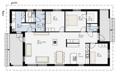 Small House Plans, Floor Plans, Layout, Exterior, Flooring, How To Plan, Architecture, Buildings, Design