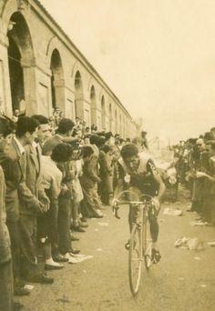 Federico Bahamontes at the Giro dItalia in 1956