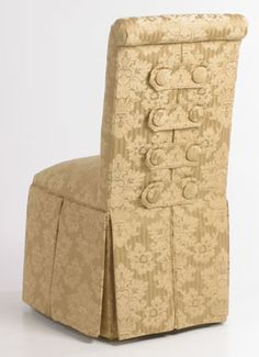 Button Back Parsons chair...Carrington Court Direct; great prices, great selection of fabrics!