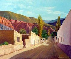 Water Art, Tucson, Salvador, Country Roads, Google, Landscape Paintings, Tapestry, Watercolors, Peruvian Art