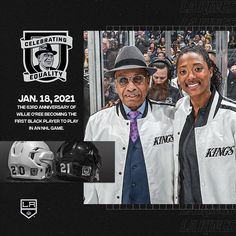 "LA Kings on Instagram: ""Celebrating Equality."" Ice Hockey, Equality, King, Baseball Cards, Celebrities, Sports, Instagram, Social Equality, Hs Sports"
