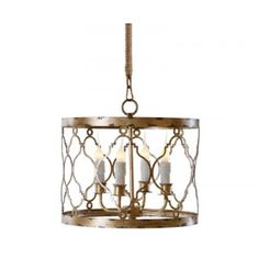 The Aidan Gray Adella pendant chandelier in distressed gold finish is elegant, sleek and sophisticated. The exquisite detailing of this chandelier. Drum Pendant, Pendant Chandelier, Chandelier Lighting, Chandeliers, Gold Pendant, Kitchen Chandelier, Vintage Chandelier, Quatrefoil Pattern, Gold Pattern