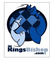 Chess Website Logo by seashell Custom Logo Design, Custom Logos, Website Logo, Chess, Sea Shells, Smurfs, The Creator, Fictional Characters, Art