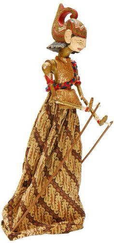 Wayang, marionnette indonésienne.