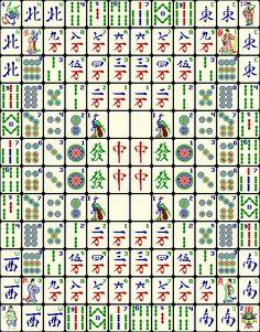 western mahjong tiles symbolic square - Google Search