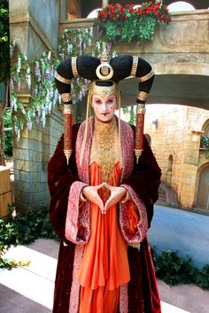 Queen Amidala and her dresses. The main reason I was so excited for Episode I.