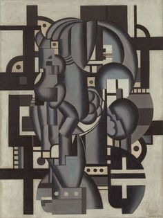 Composition in Blue (1921–27, oil on canvas) – Fernand Léger (French, 1881–1955)