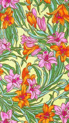 patterns.quenalbertini: Beautiful floral pattern   coquita