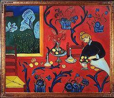 Henri Matisse, Red Dining Room.