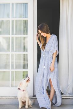 caftan maxi dress - Mara and Ginger