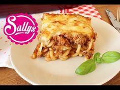 Sallys Blog - Hackfleisch-Nudel-Auflauf