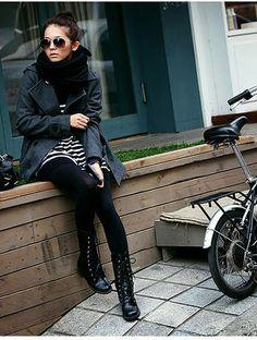 Korean Street Fashion | Liipstik: Sidewalk Catwalk -- Live Fast x Die Young!