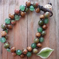 Woven Earth Child Bracelet by LoveisaSeed on Etsy, $15.00