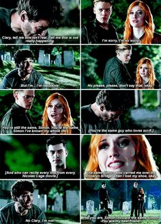 I'm nothing but a monster. #Shadowhunters #1x08