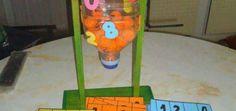 Bingo casero con material reciclado