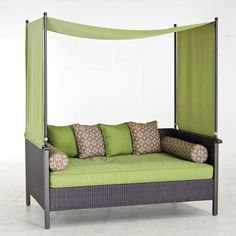 walmart outdoor furniture | providence outdoor day bed, green