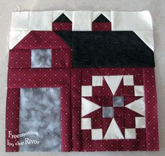 Freemotion by the River: Barn Raising Quilt Along