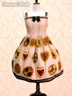 Innocent World  -  Anniversary Happy Pie High Waist JSK
