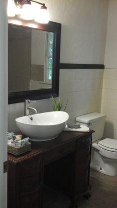 Source Luxe Living Interiors Amazing Powder Room Design With Gray Single Vanity With Carrara
