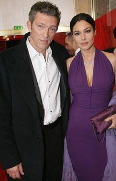 Monica Bellucci et Vincent Cassel aux César en 2009