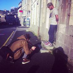 Backstage shooting fw13 #LaFactory41 #photoshoot #shooting #mode #winter2013 #street #sun #boy #fivepanel #flowers #tshirt #collab #jean #Carhartt #sneakers #Saucony #photographe #artiste #BenjmainDeroche