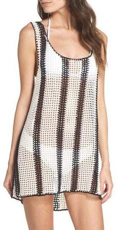 Diane von Furstenberg Cover-Up Sweater Dress