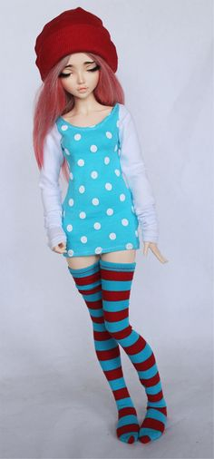 MSD BJD clothes Turquoise polka dot body con dress MonstroDesigns™ by MonstroDesigns on Etsy https://www.etsy.com/listing/219341419/msd-bjd-clothes-turquoise-polka-dot-body