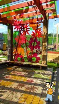Recursos para trabajar la Primavera en el aula. Dar color al patio del colegio