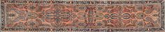 SAROUK- N. 357699 – cm. 367 x 79 – Tappeti Orientali e Moderni Vendita Online Outlet