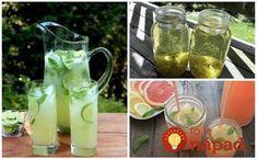 Hľadali ste čistenie ciev - Page 2 of 6 - To je nápad! Voss Bottle, Water Bottle, Mojito, Lemonade, Mason Jars, Smoothie, Ale, Food And Drink, Homemade